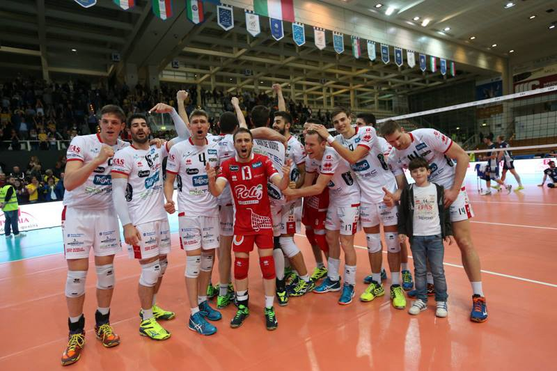 2017 CEV Cup: Trento beat Tours in the first leg of the Cup Final. The return leg is in France on Saturday!