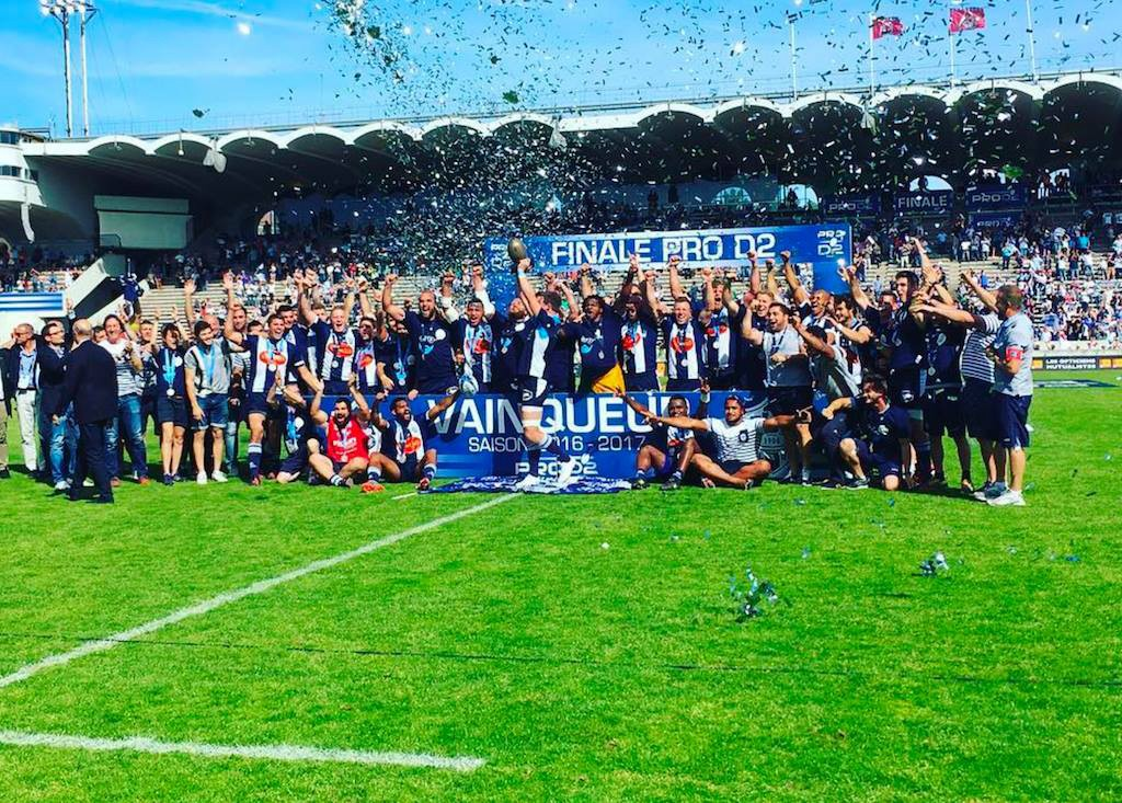 Agen Rugby back in the Top 14!