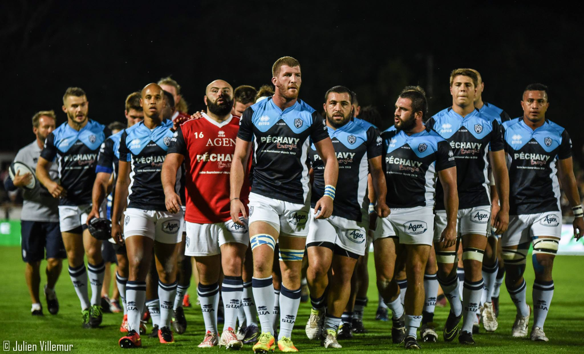 Agen Rugby tops the table!