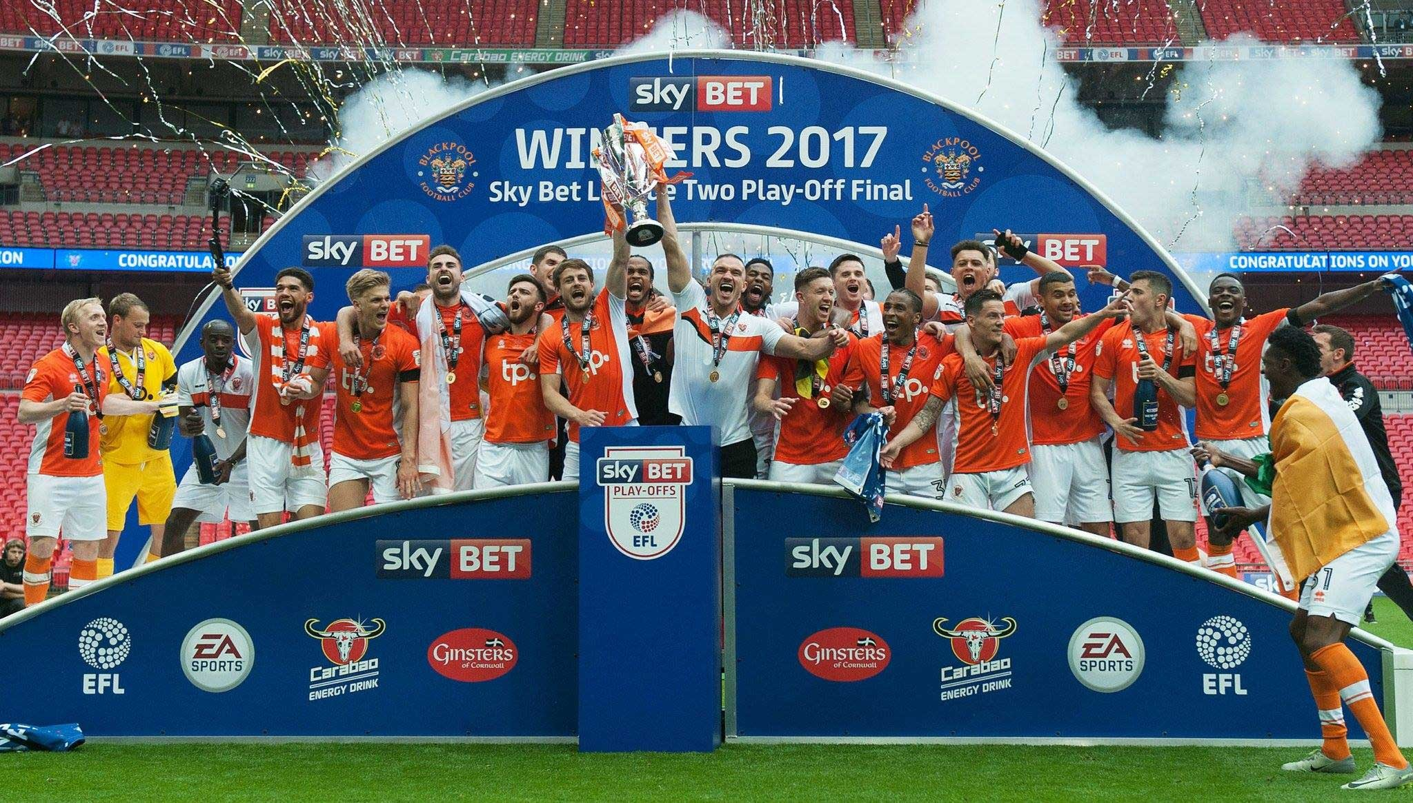Blackpool FC promoted to League One!