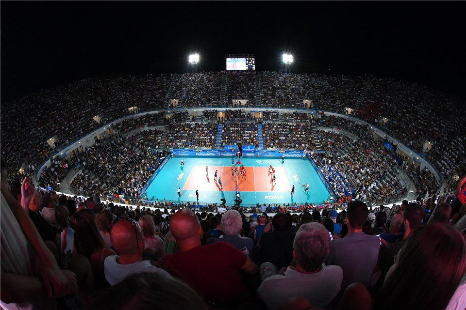 Congratulations!!!! 2018 Volleyball Men's World Championship: extraordinary and unforgettable excitement at the Foro Italico Italy beats Japan 3-0!