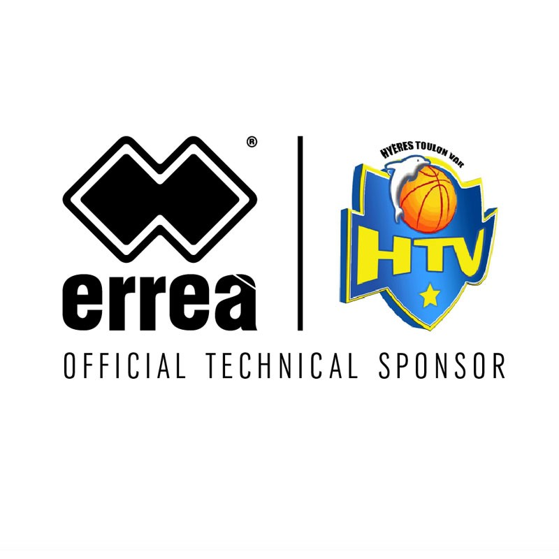 Contract renewed for the technical partnership between Erreà and Hyères Toulon Var Basket!