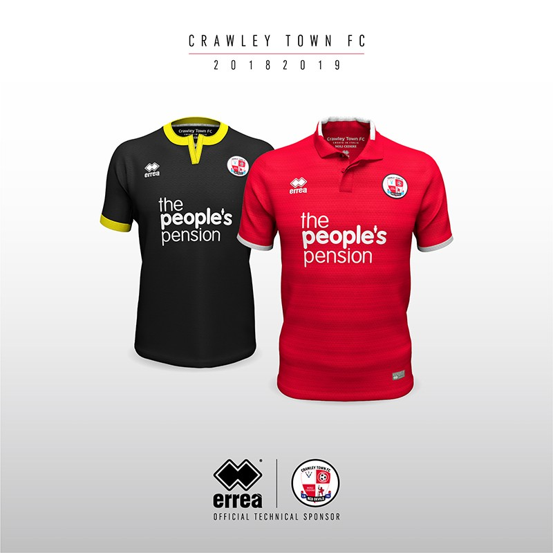 Crawley Town F.C.'s new 2018-2019 away kit unveiled!