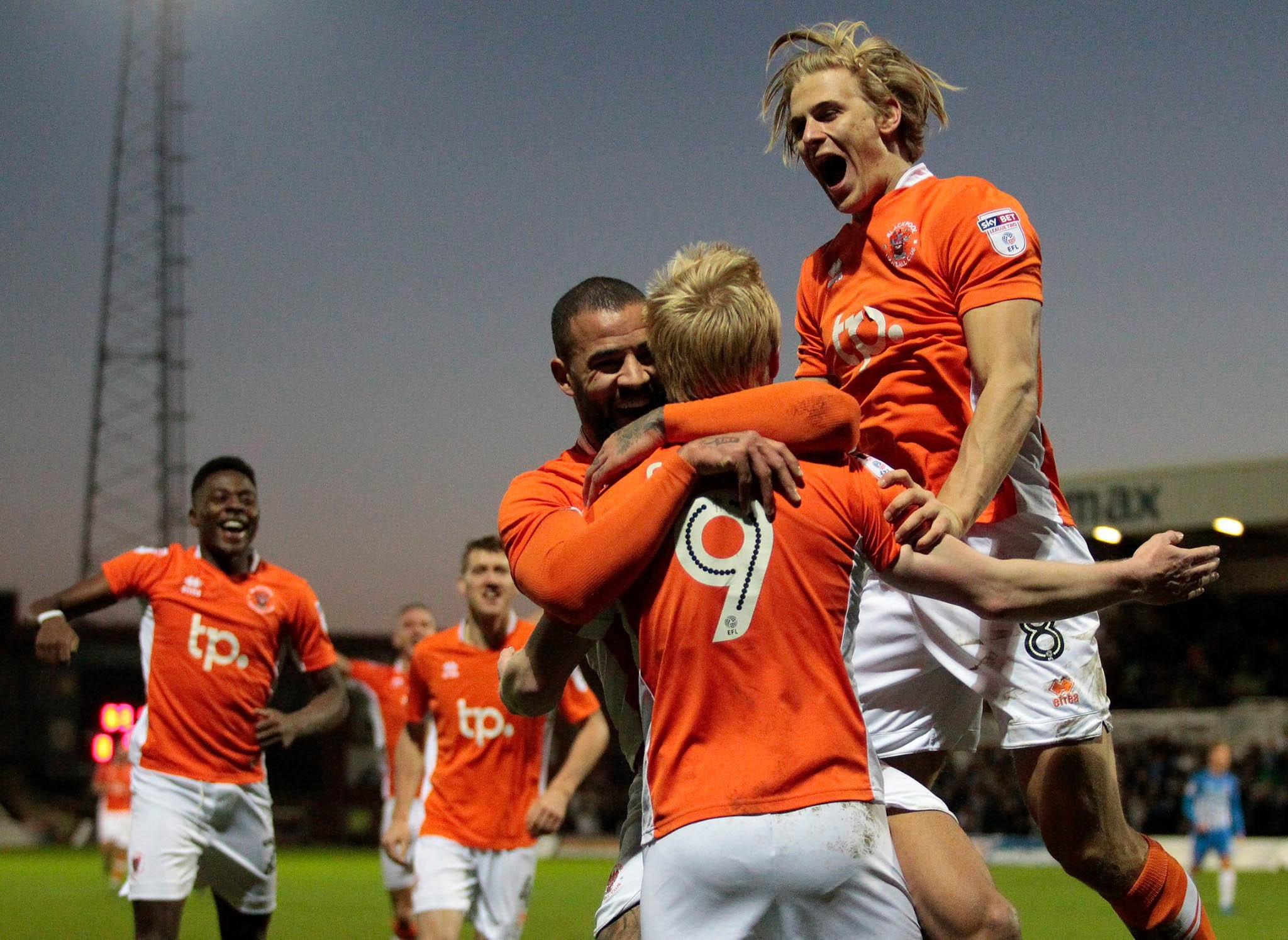 Erreà and Blackpool FC together again for the next three seasons