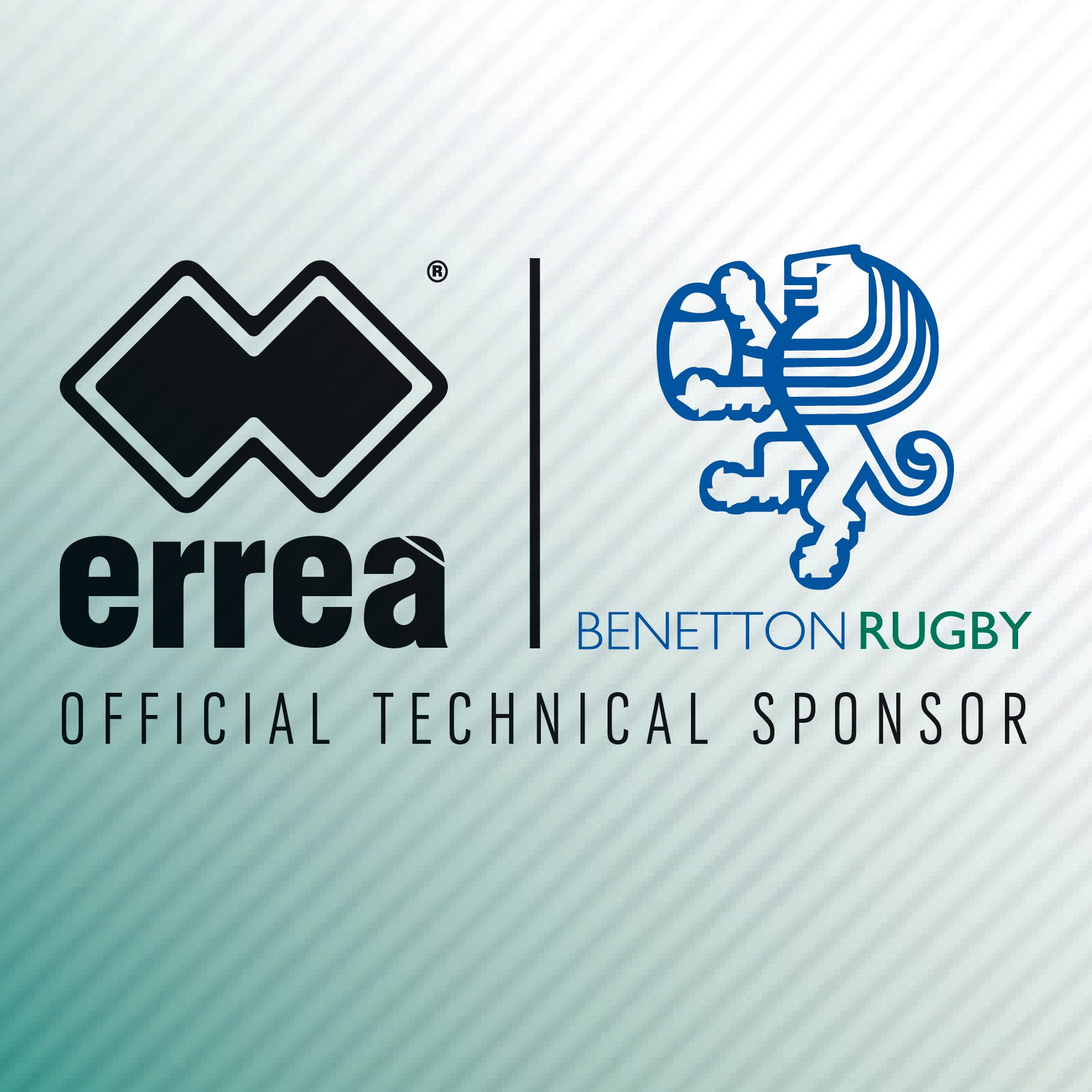 Erreà Sport is the official technical sponsor of Benetton Rugby Treviso