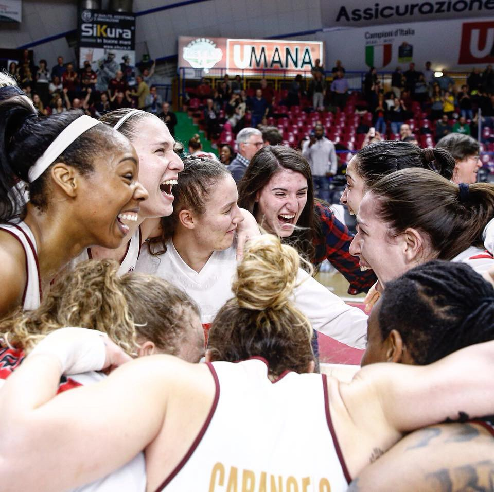 EuroCup Women: Reyer Venezia women's team celebrate a huge sporting achievement to go through to the final!