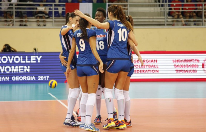 European Women's Championships: Italy, Netherlands and Belarus through to the quarter finals!