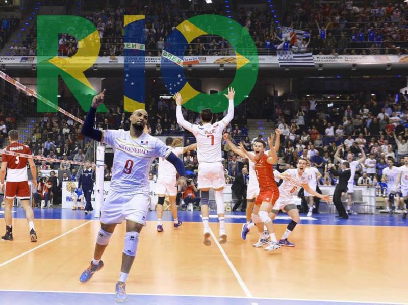 France qualifies for the 2016 Rio Olympics!