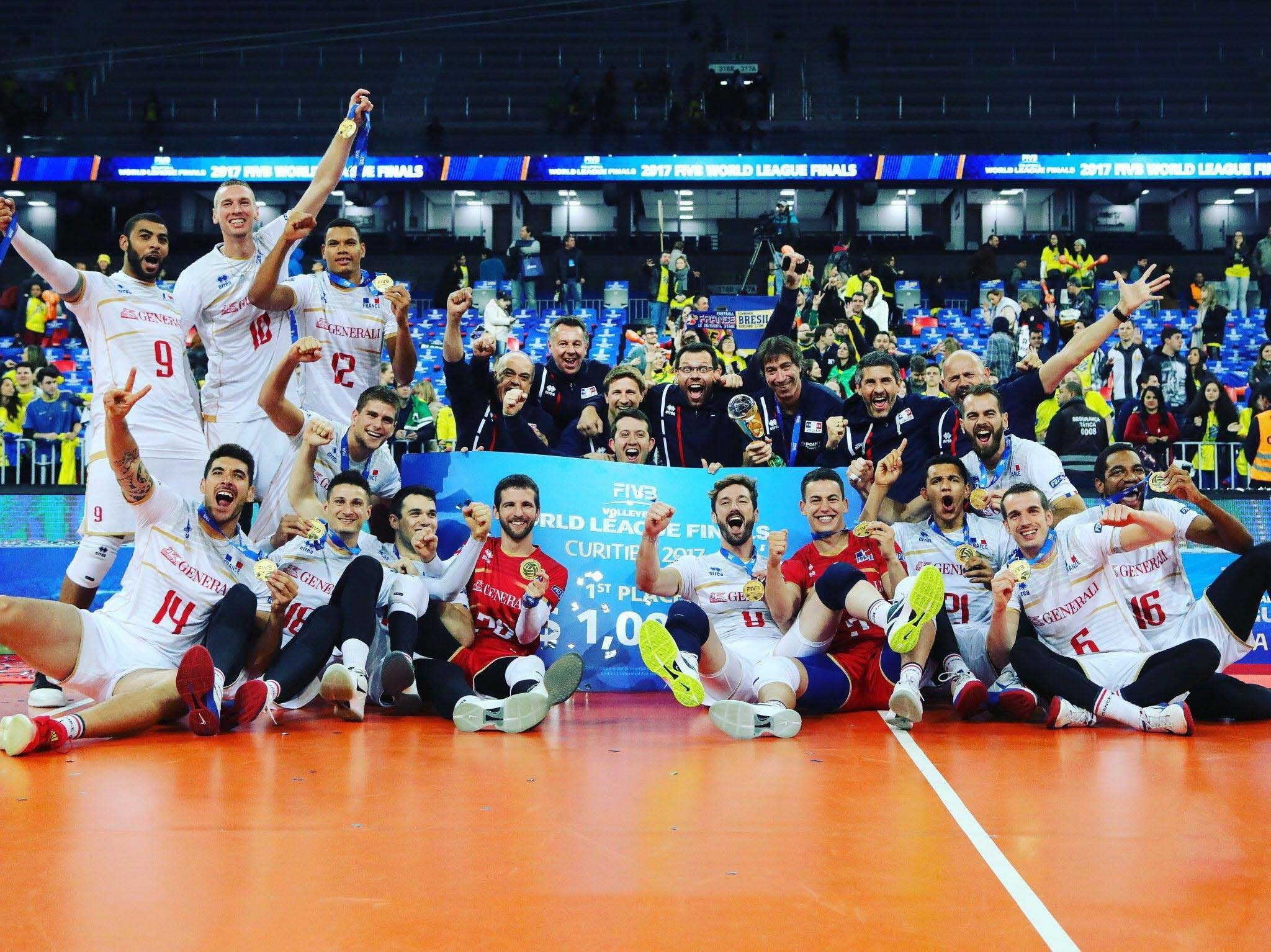 France triumphs at the World League and wins its second European Championship title