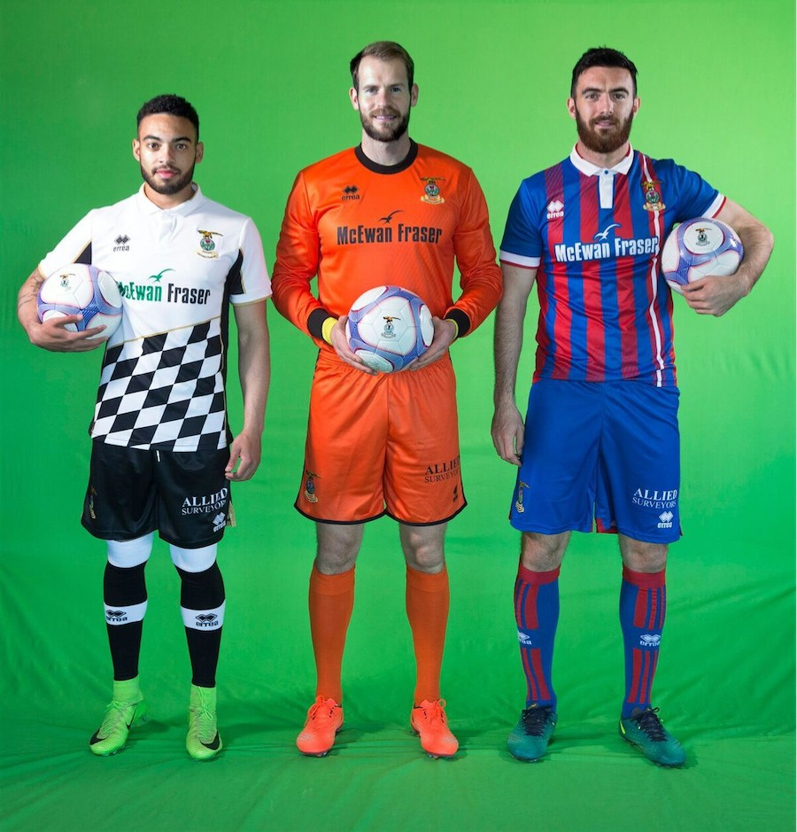 Inverness revives its sponsorship deal with Erreà and unveils its new kits for the 2017/18 season!