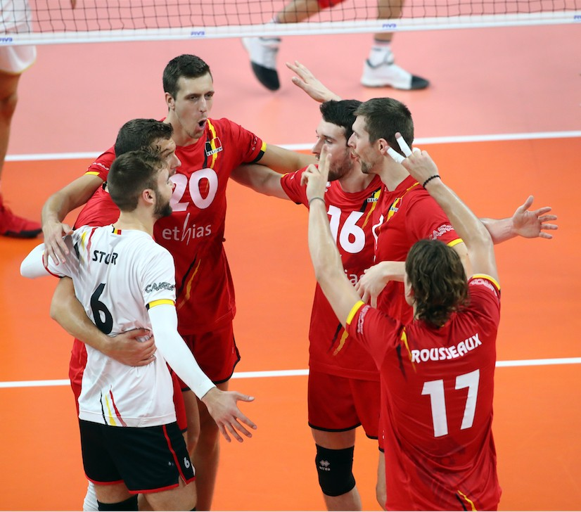 Men's World Volleyball 2018: Belgium goes through!