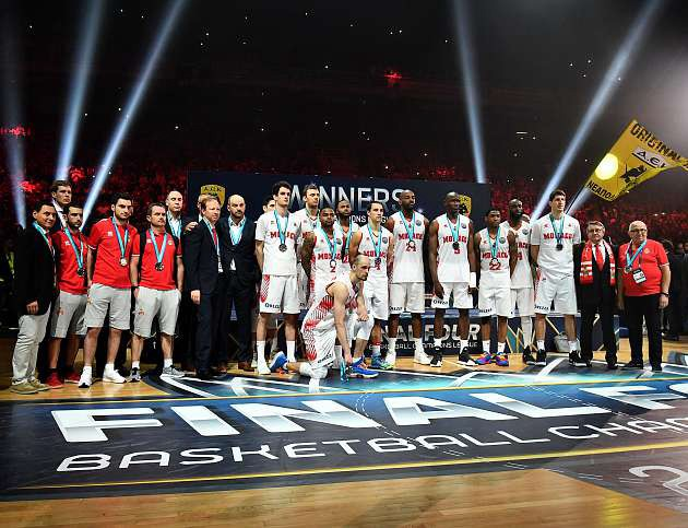 Monaco take second place in the final of the Basketball Champions League 2018!