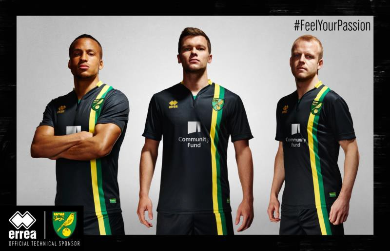New Norwich City away kit now available!
