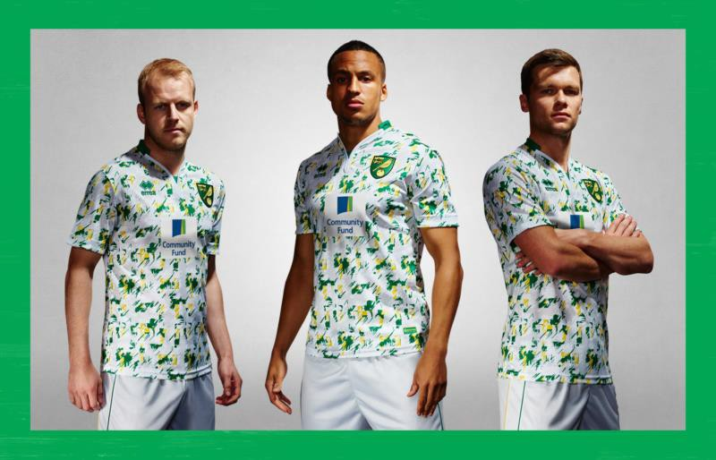 Norwich Fc launched its new Errea third kit!