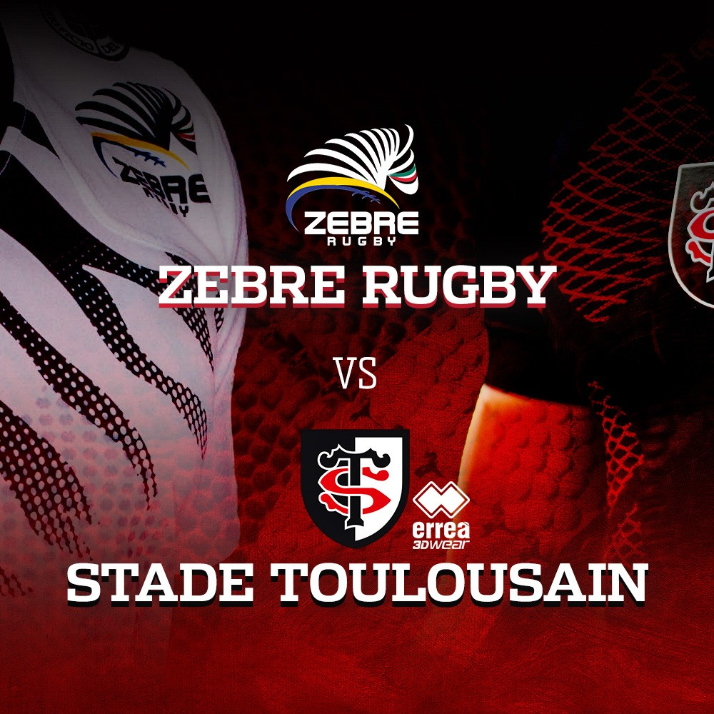 Saturday 10 December sees the eagerly awaited Erreà derby between Zebre Rugby and Stade Toulousain