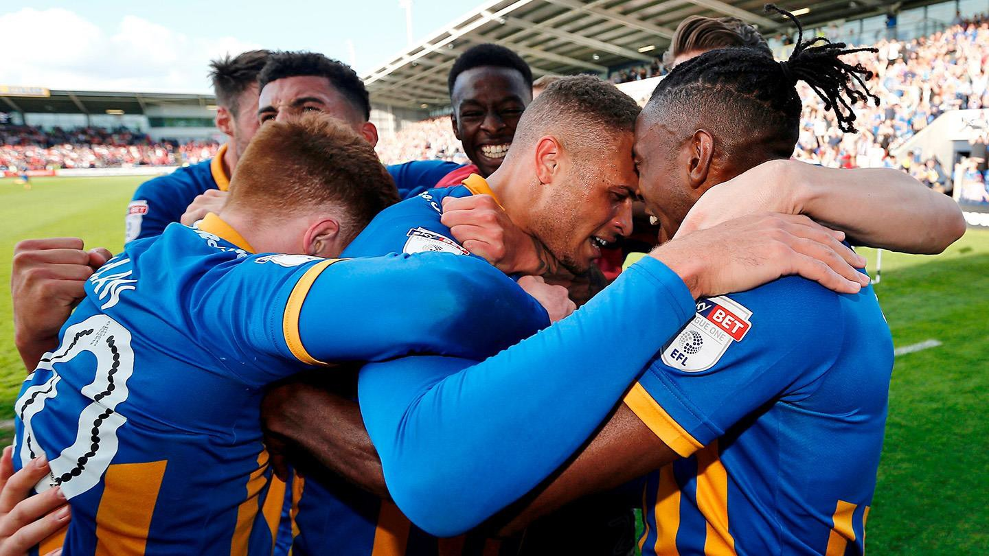 Shrewsbury goes through to another play off final at Wembley. Match day is 27 May!