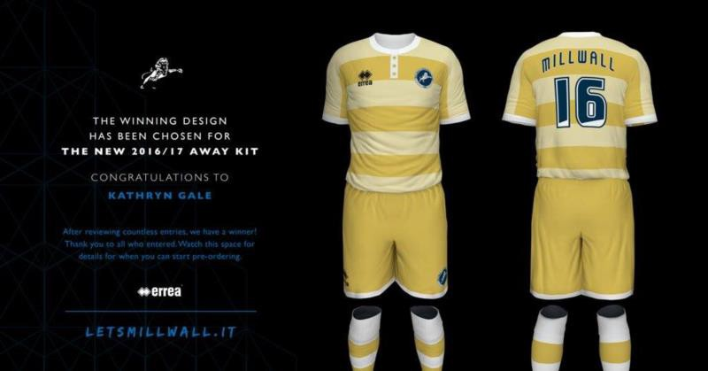 The design for Millwall F.C.