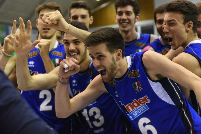 Under 19 European Volleyball Championship: the young Italian team beats Hungary and goes through to the semi-final!