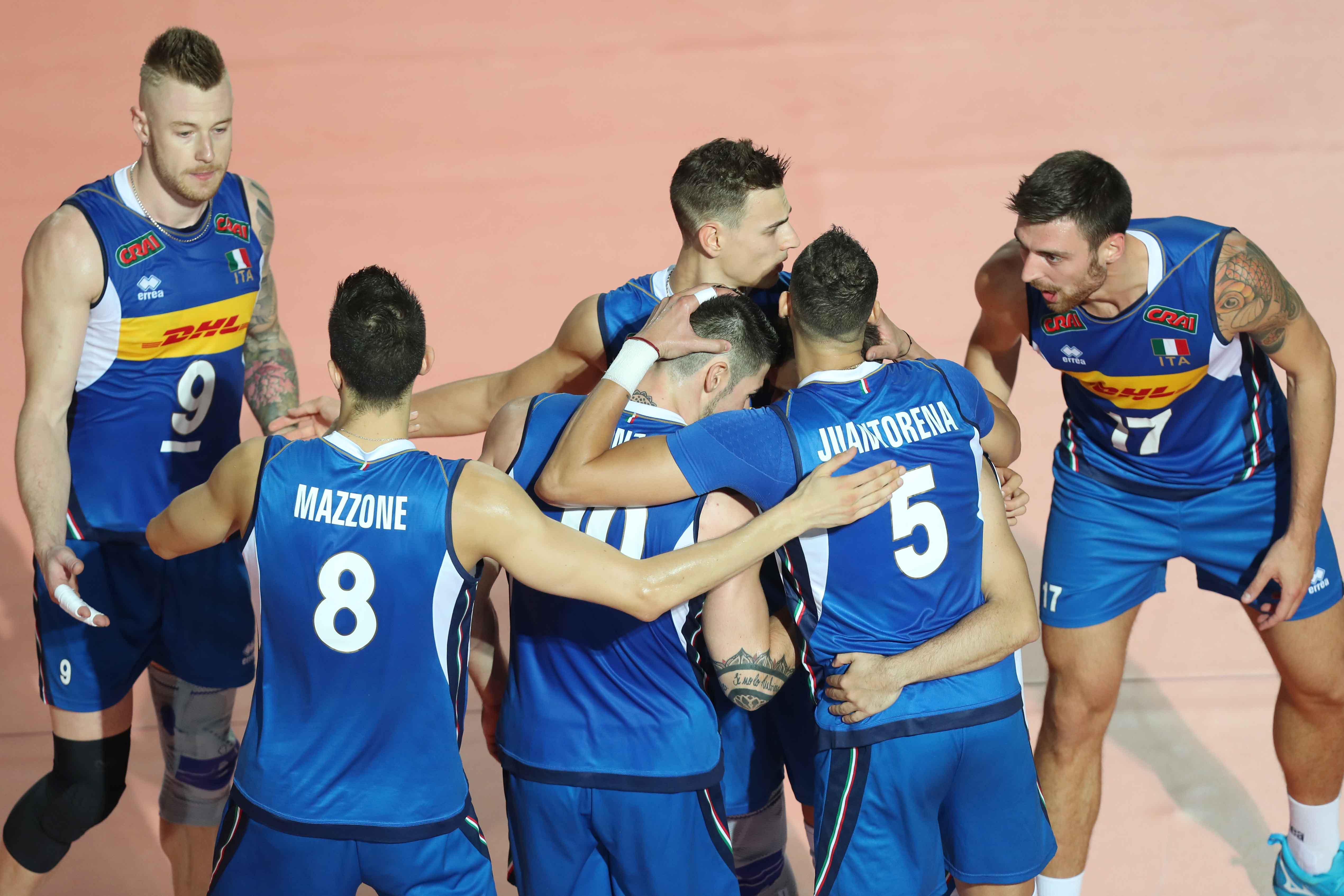 Volleyball World Championship 2018: Italy beat Slovenia to finish the first round with maximum points. Here is the schedule of second round games!