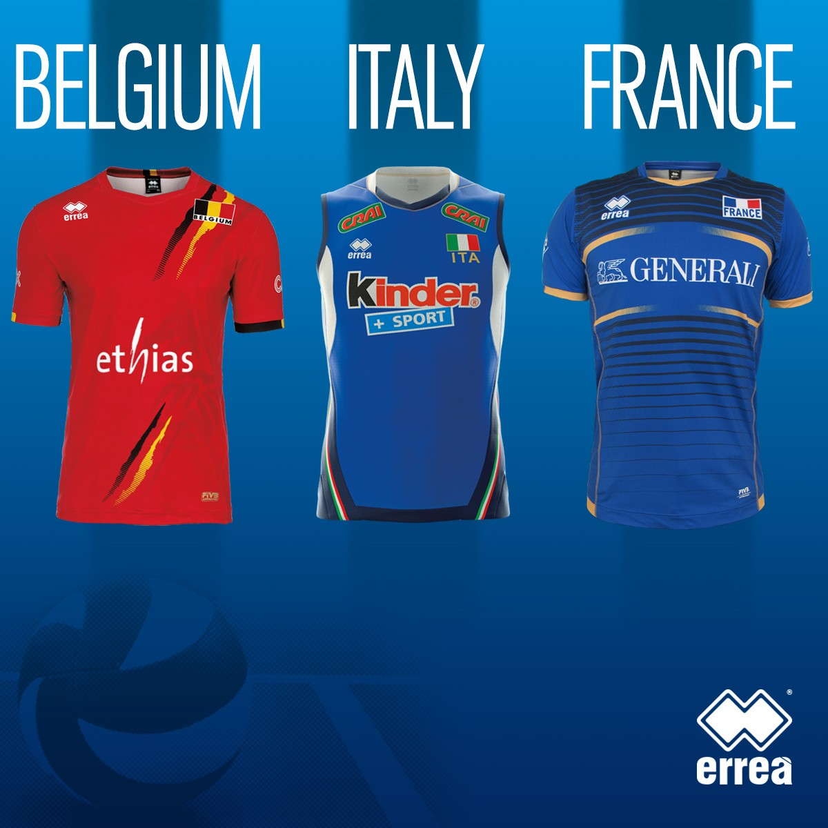 World League: report on the first weekend of the tournament for the Erreà teams!