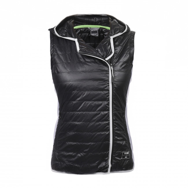 SPORT FUSION SS17 QUILTED GILET W AD NERO - REPUBLIC
