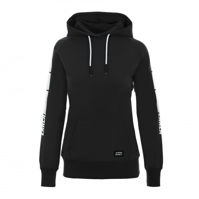 SPORT INSPIRED FW20/21 SWEATSHIRT WOMAN 004 AD NERO - REPUBLIC