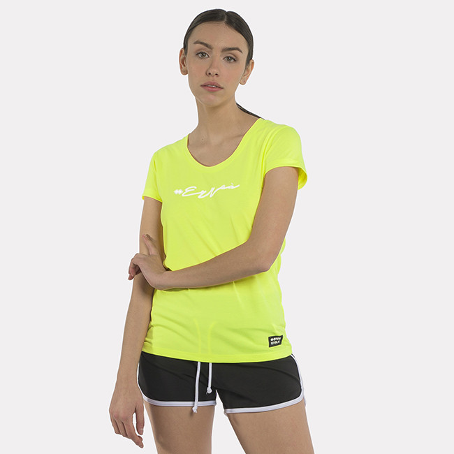 ESSENTIAL SS21 WOMAN TEE 002 MC AD SAFETY_YELLOW-2 - REPUBLIC