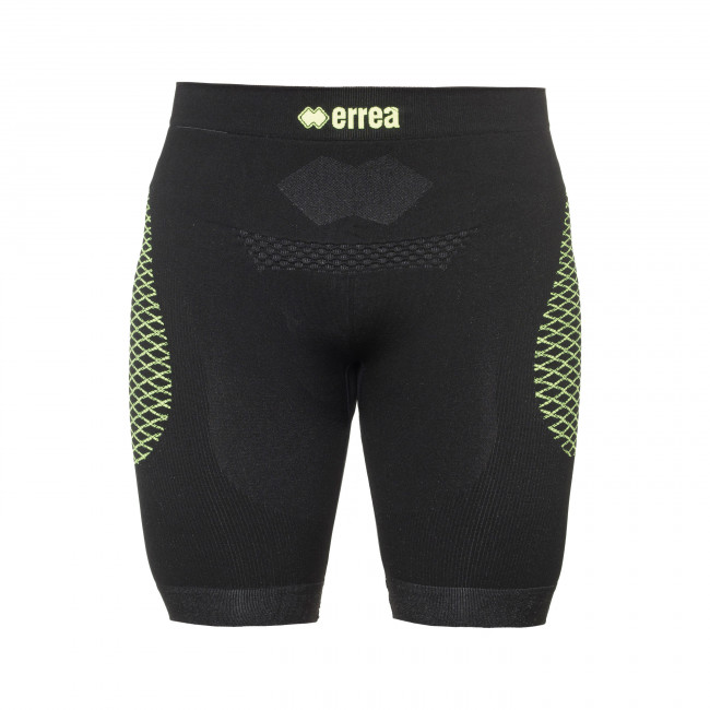 CAELAN SHORT AD NERO GIALLO_FLUO - 3D WEAR